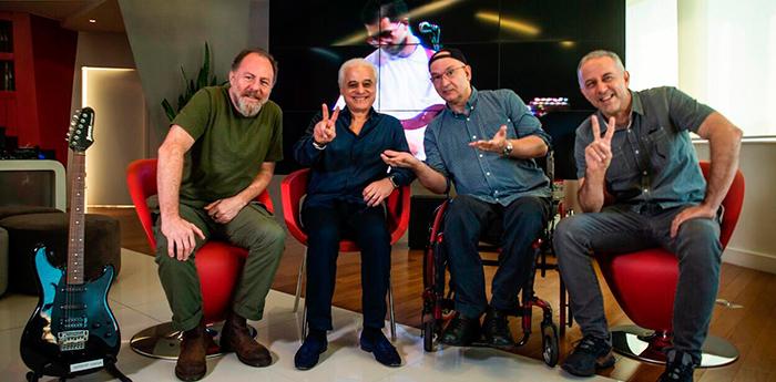 Banda foi anunciada pelo presidente e criador do festival, Roberto Medina, na sede do festival.