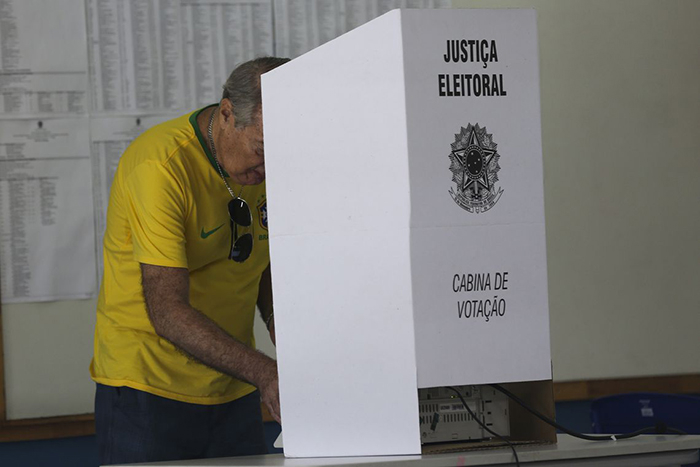 Votação em Brasília.