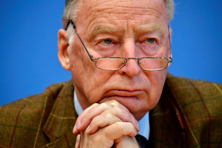 O líder do partido de extrema direita alemão AfD, Alexander Gauland.