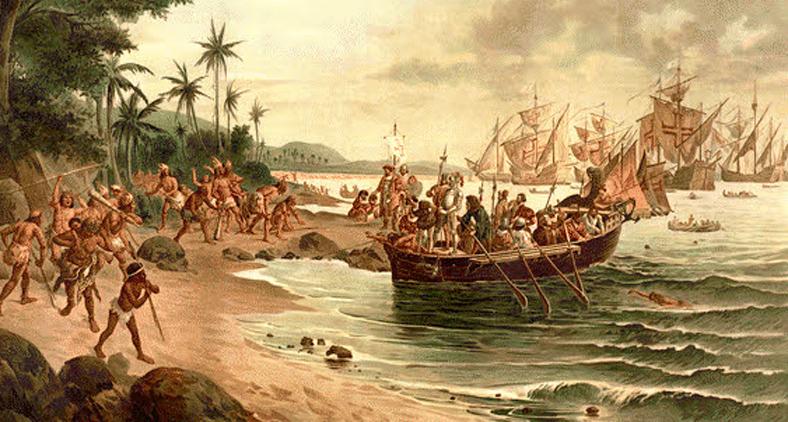 O Brasil é explorado desde o dia em que Santa Maria, Pinta e Nina lançaram suas âncoras na Bahia (Reprodução)
