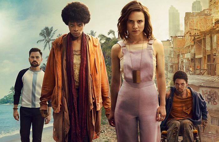 Até então, a única série feita para plataformas 'on demand' havia sido o sci-fi 3%, da Netflix, em 2016.