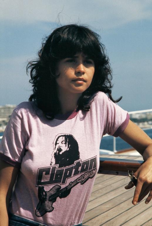 (1975) A atriz francesa Maria Schneider, no Festival de Cannes