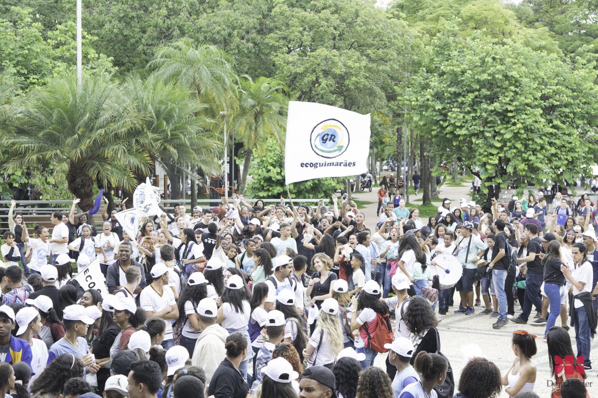 VI Caminhada Ecológica EcoDom 2018 atraiu mais de 10 mil pessoas em BH.