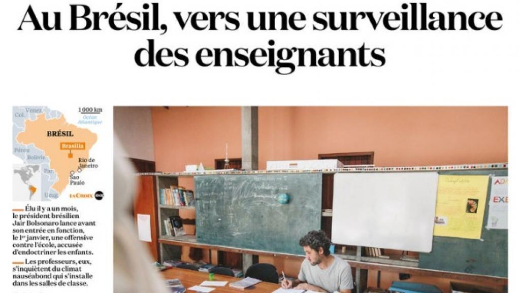 Vários episódios de censura e até mesmo de agressão por parte de alunos ou pais contra professores têm sido registrados