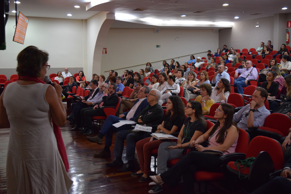 Heliana Kátia Campos apresentou a experiência de Brasília