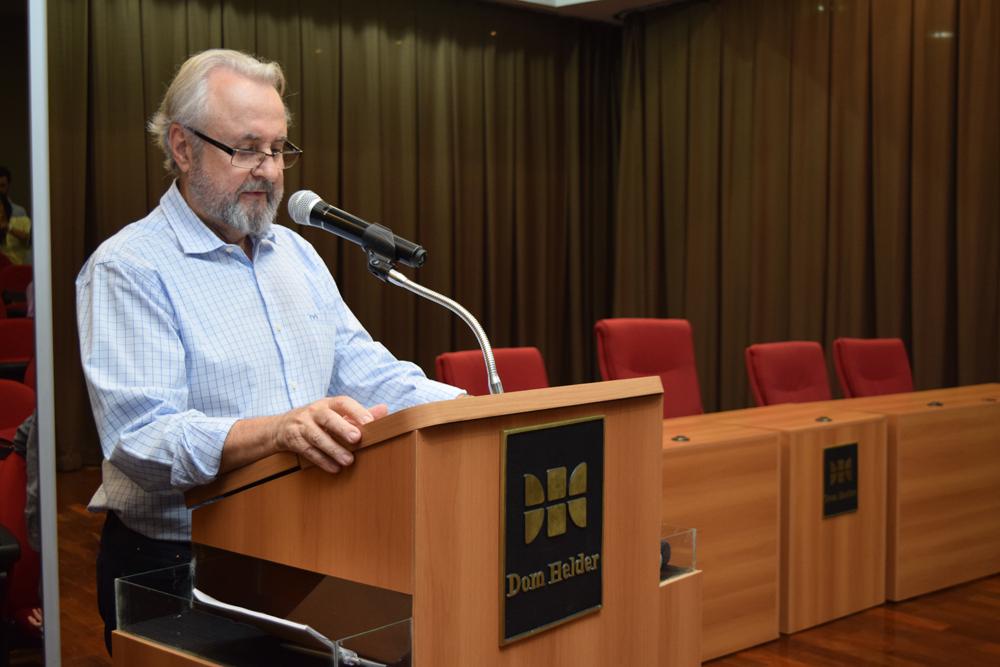 O professor José Cláudio Junqueira foi um dos organizadores do seminário Logística Reversa