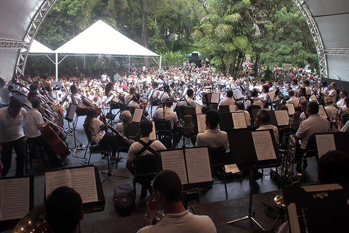 O concerto reúne cinco árias da ópera, com introdução inicial da OSMG.