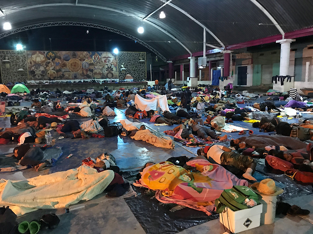 Refuge in Matías Romero, Veracruz.