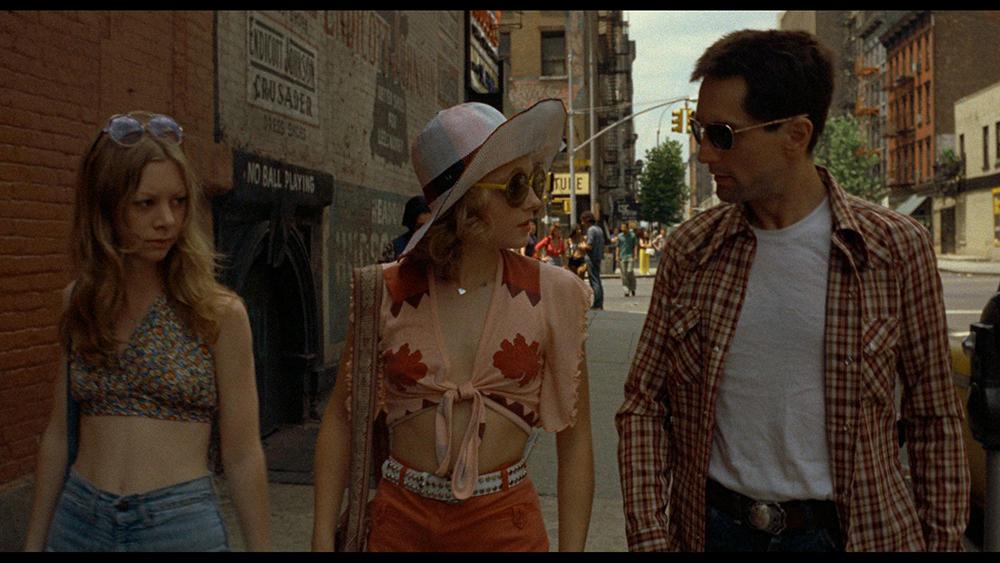 Cena do filme Taxi Driver (1976), dirigido por Martin Scorsese.