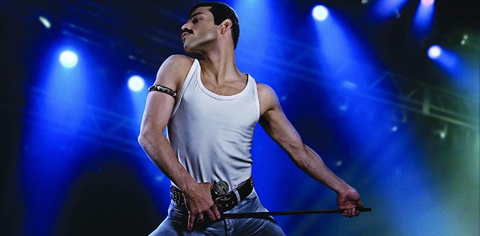 Malek interpretou Freddie Mercury no filme