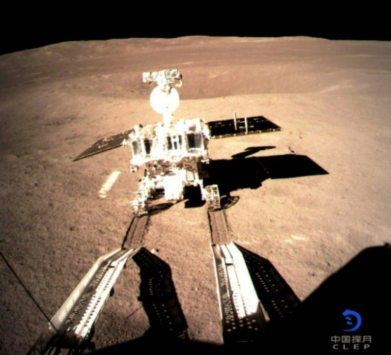 Foto fornecida pela agência espacial chinesado robô