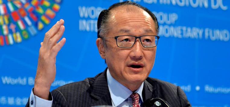 Sob liderança de Kim, o banco estabeleceu a meta de eliminar a pobreza extrema até 2030.