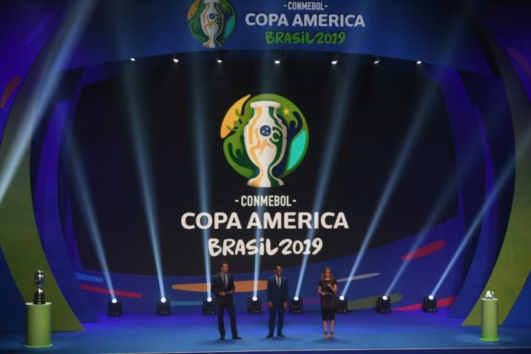 Sorteio dos grupos da Copa América do Brasil-2019, 24 de janeiro de 2019 no Rio de Janeiro