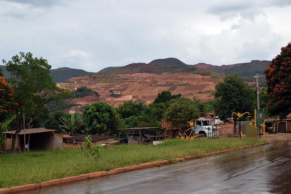 O povoado de Tejuco foi um dos locais atingidos pela lama.