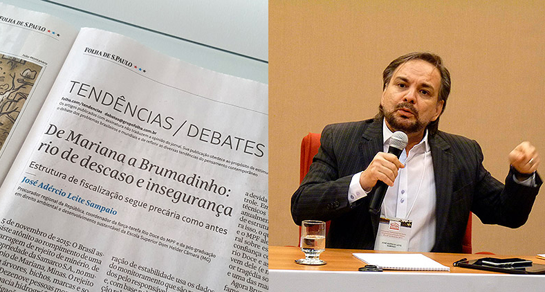 José Adércio: 'tanto o Estado confia que não dá a devida atenção aos órgãos de controle'. (Dom Total)