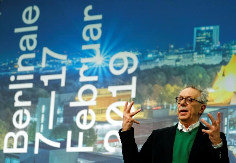 Diretor do Festival de Cinema de Berlim, Dieter Kosslick, durante entrevista coletiva.