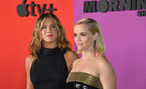 Jennifer Aniston e Reese Witherspoon ganham US$ 2 milhões por episódio de 'The morning show' da AppleTV+ (AFP)