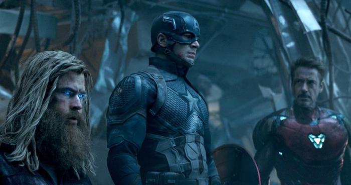 Cena de 'Vingadores: ultimato', produzido pela Marvel