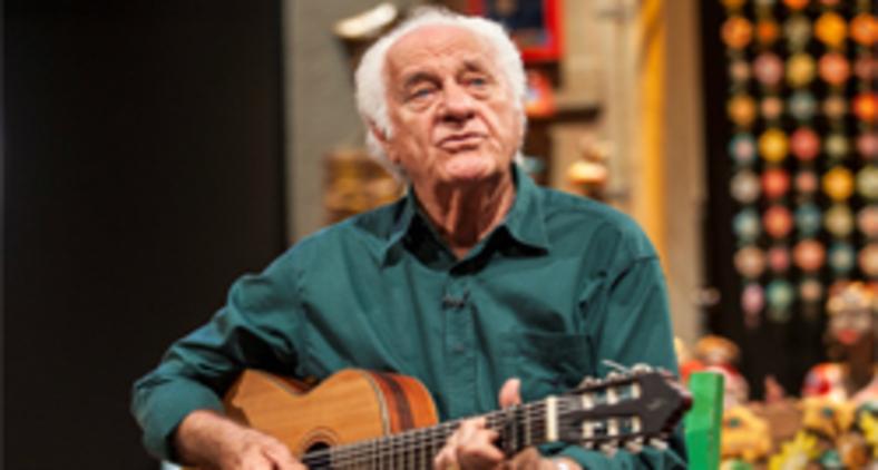 Rolando Boldrin, por meio de seu programa, é um dos poucos a trazer música, músicos e intérpretes de qualidade até à sala da gente (Divulgação/TV Cultura)