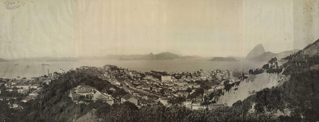 Vista do Rio de Janeiro no fim do século 19