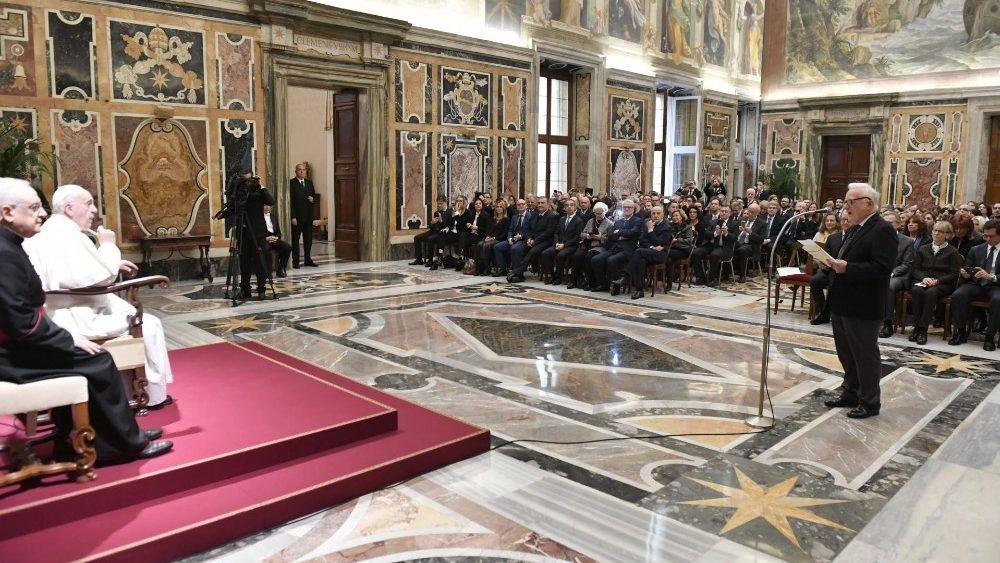Papa Francisco recorda o pensamento deste magistrado siciliano assassinado pela máfia em 1990