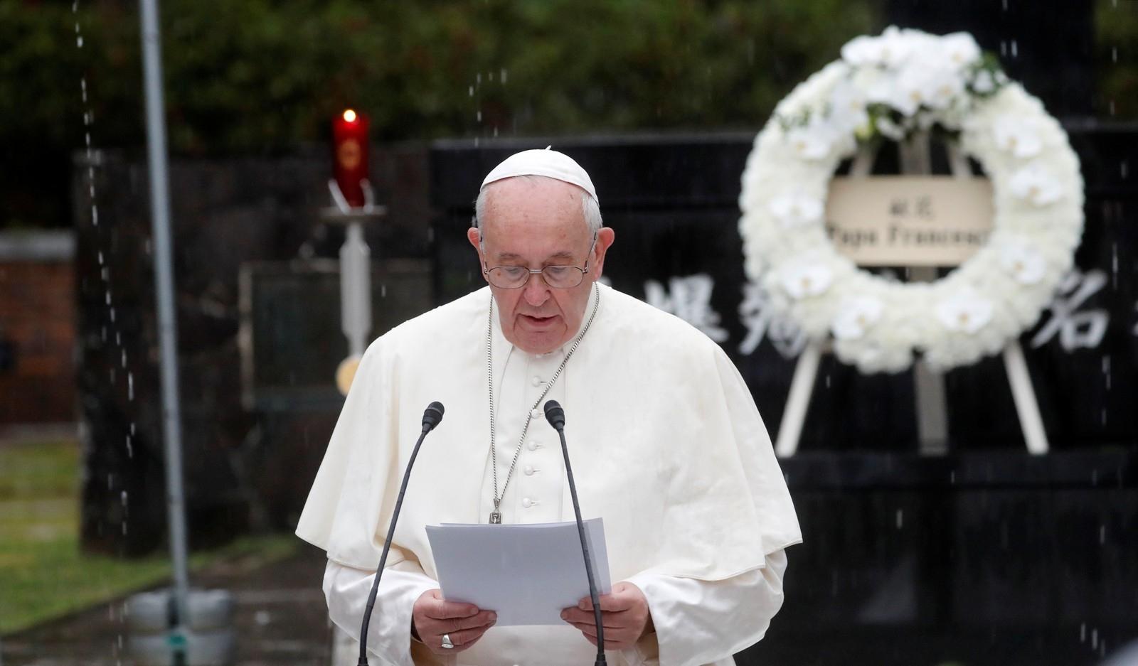 O papa disse várias vezes: 'falo através dos bispos da Venezuela'