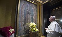 Dia Continental de Oração pela Paz será celebrado na festa da padroeira da América Latina, Nossa Senhora de Guadalupe (AFP)