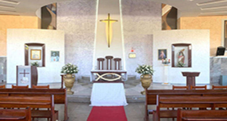Paróquia Santo Afonso, em Parquelândia, Fortaleza - CE (Geovane Saraiva/ Arquivo Pessoal)