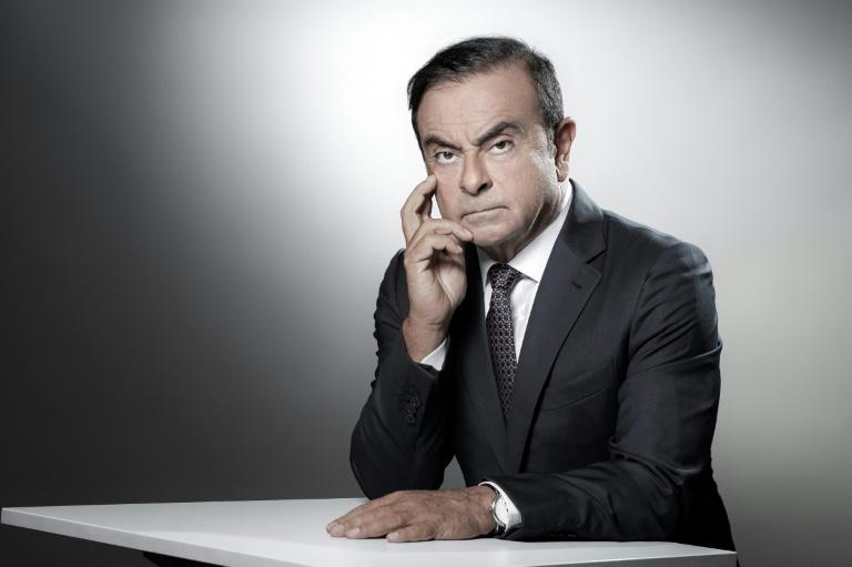 Carlos Ghosn em Boulogne-Billancourt, em 12 de setembro de 2018