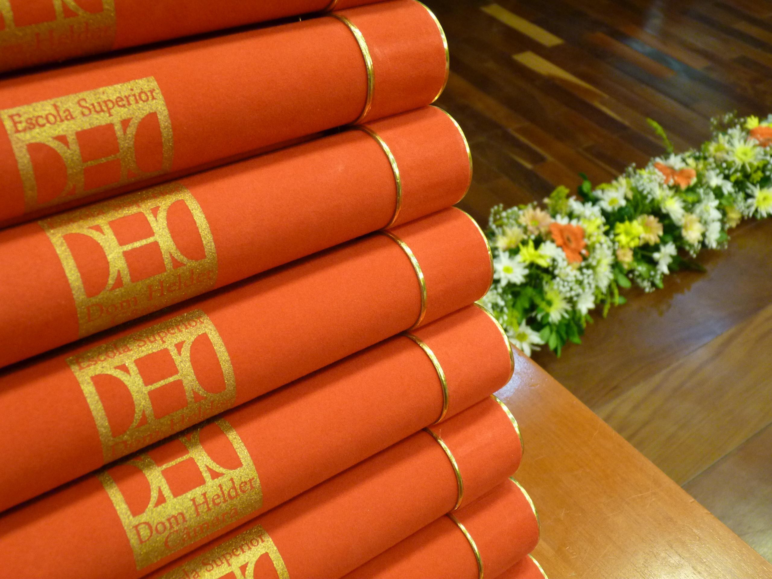 Diplomas da colação de grau