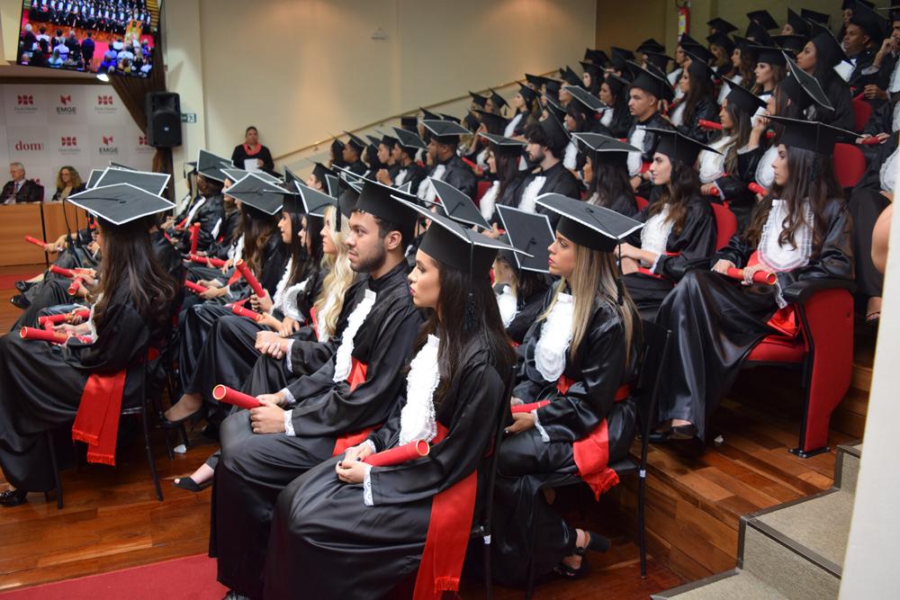 Parabéns aos formandos!