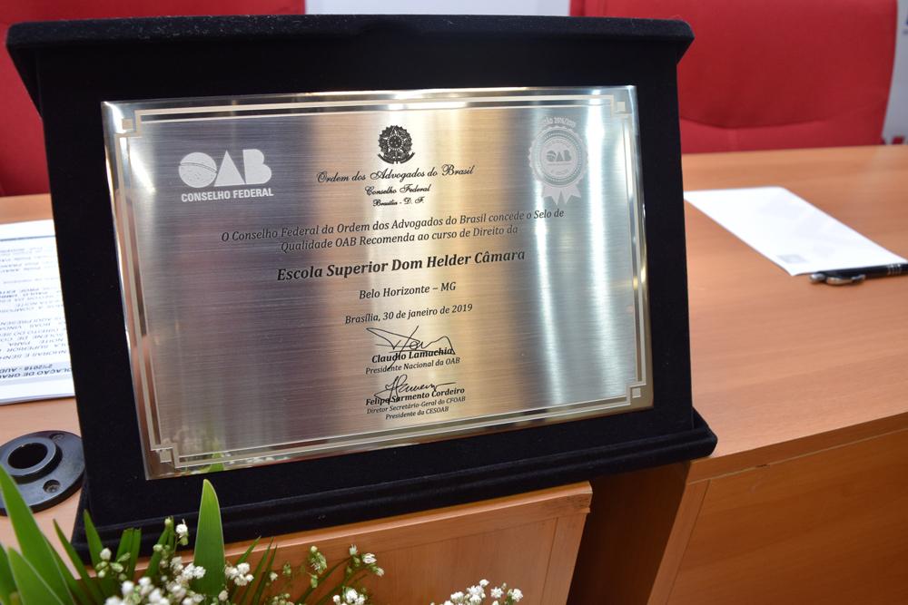 Titularidade conferida a Dom Helder: Selo de qualidade da OAB