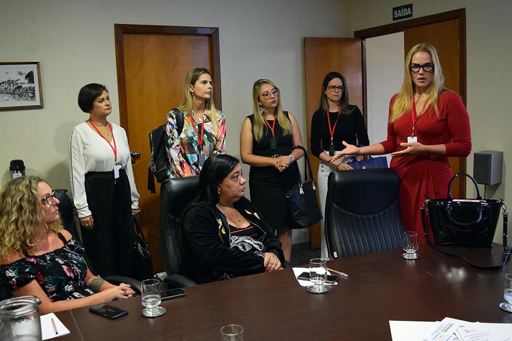 O projeto foi apresentado aos pró-reitores durante a reunião do colegiado.