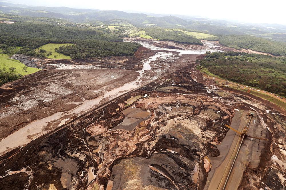 Rompimento de barragem da Mina de Feijão, da Vale, em Brumadinho.