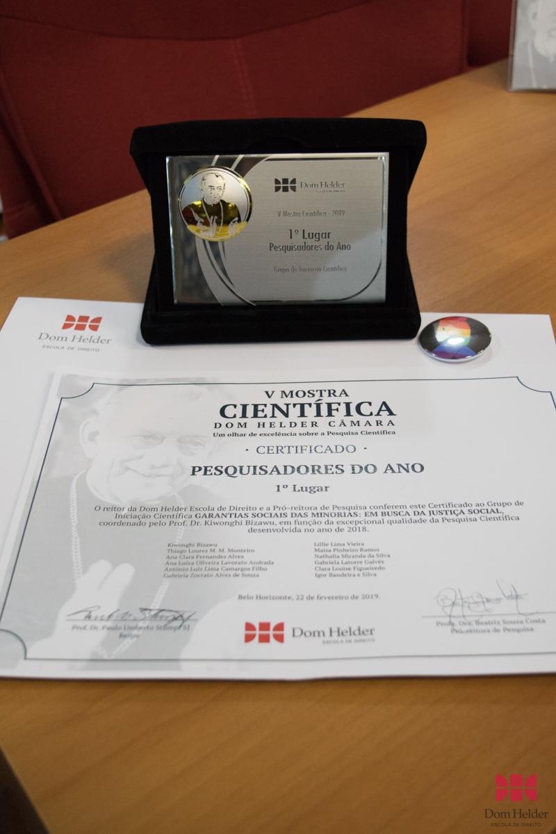 V Mostra premia grupos de iniciação científica da Dom Helder.