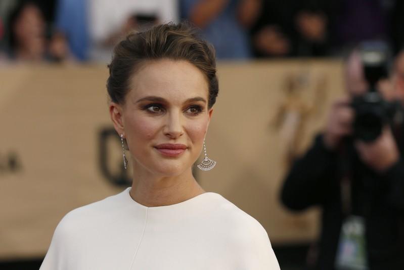 A atriz Natalie Portman durante premiação em Los Angeles, na Califórnia.