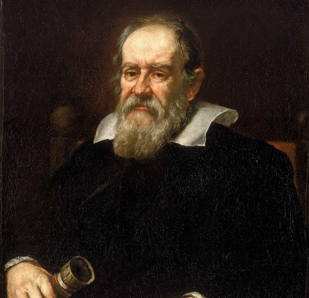 Galileo Galilei - pintura de Justus Sustermans