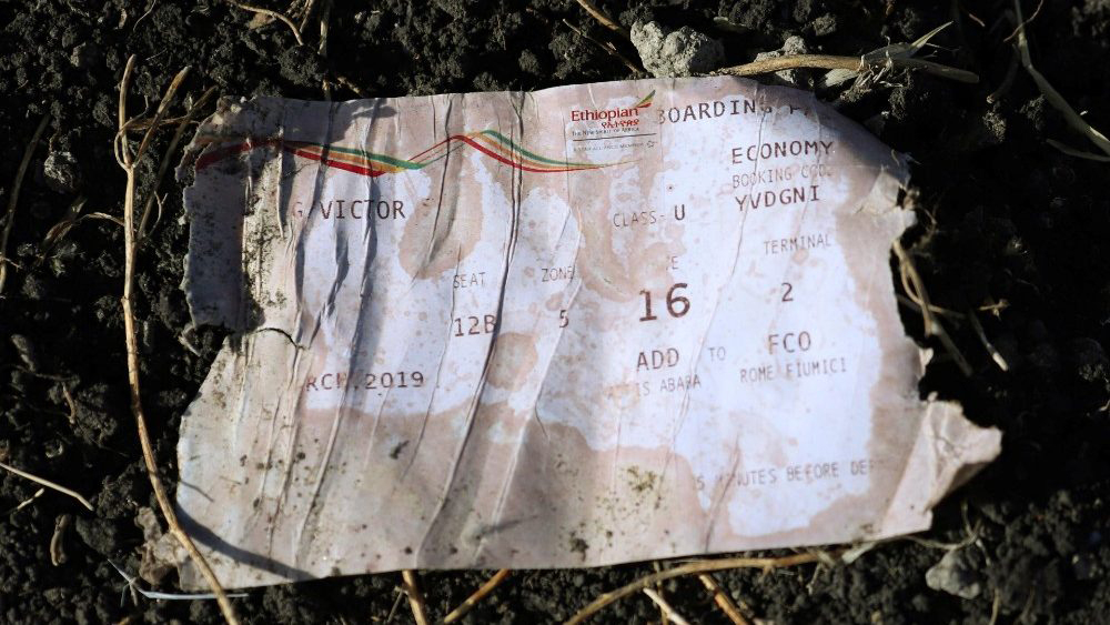 O voo ET 302 deixou o aeroporto de Bole, em Adis Abeba, às 8h38 de domingo, horário local, rumo a Nairóbi, Quênia