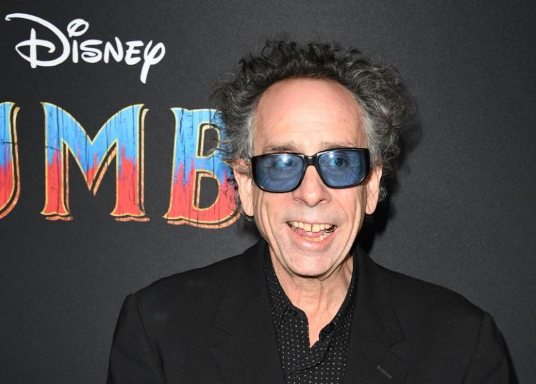 Tim Burton na pré-estreia mundial de