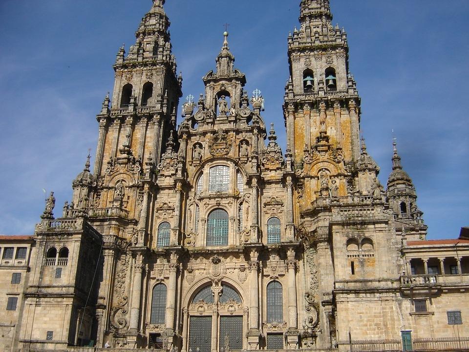 Catedral de Santiago Compostela.