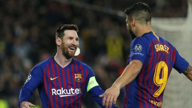 Argentino Messi deu show mais uma vez e garantiu classificação do Barça