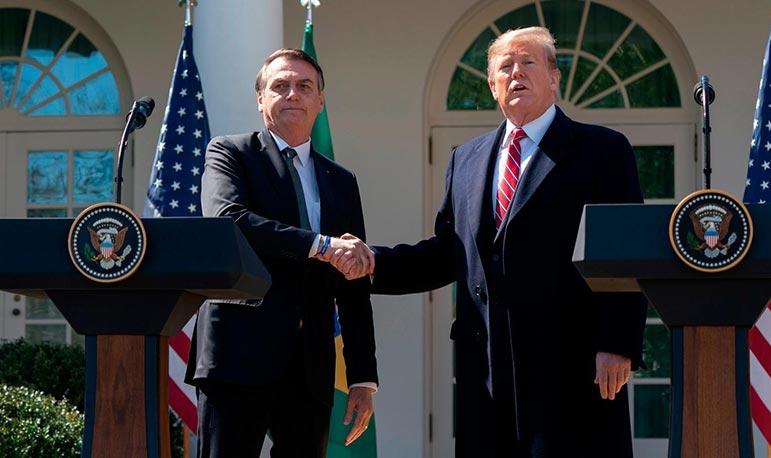 Promessa de apoio é de Trump, não dos EUA, ao contrário da tarifa zero para a entrada de trigo americano no País.