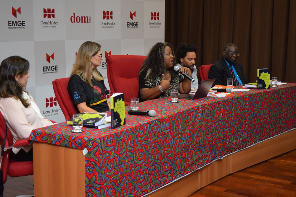Macaé Evaristo falou sobre a representatividade feminina na política e empoderamento.