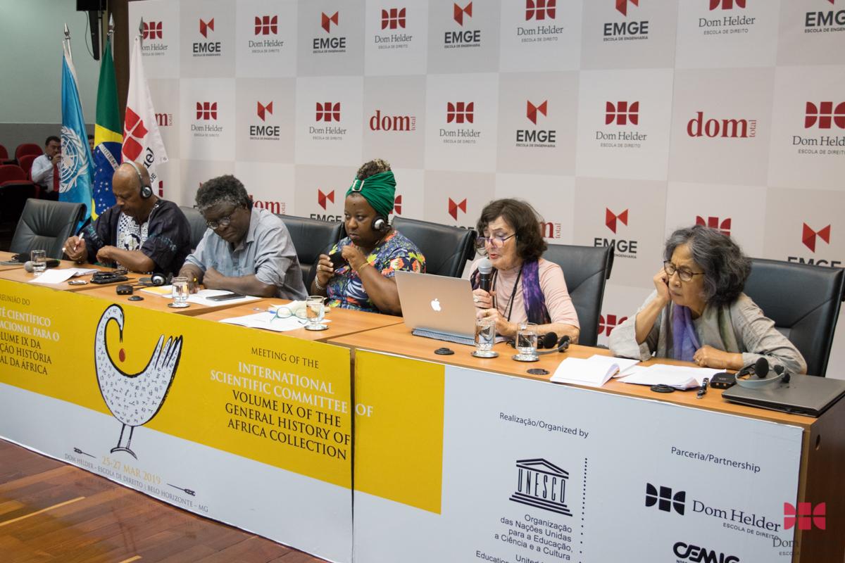Reunião do Comitê Científico Internacional da Unesco para a Coleção História Geral da África.
