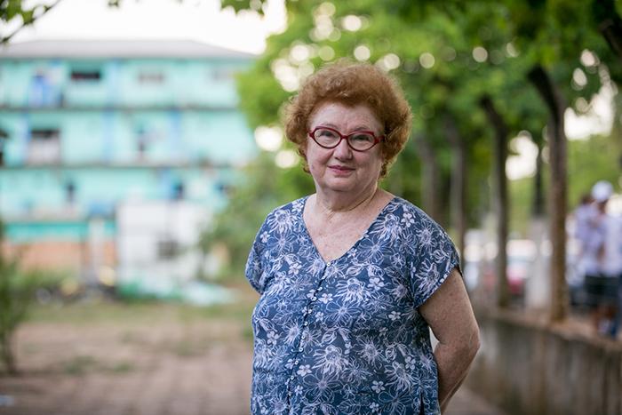 A antropóloga Manuela Carneiro da Cunha esteve no encontro