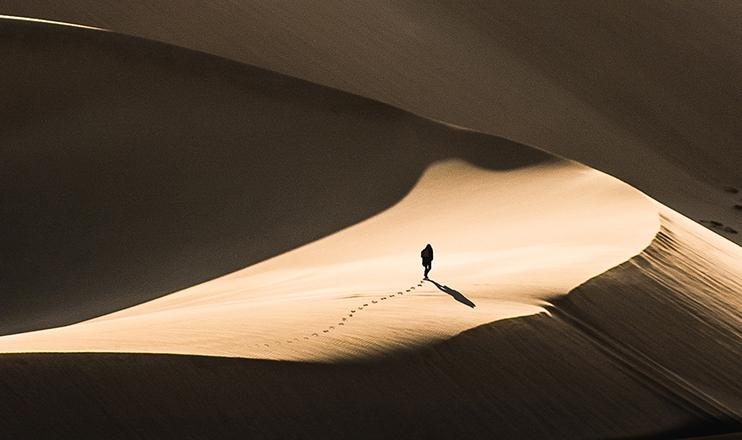 O deserto é lugar privilegiado para o encontro com Deus.