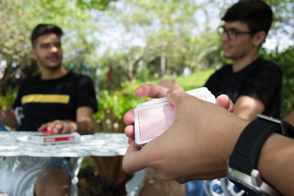 Além das atividades propostas, os estudantes puderam se divertir na Unidade III da DHC.