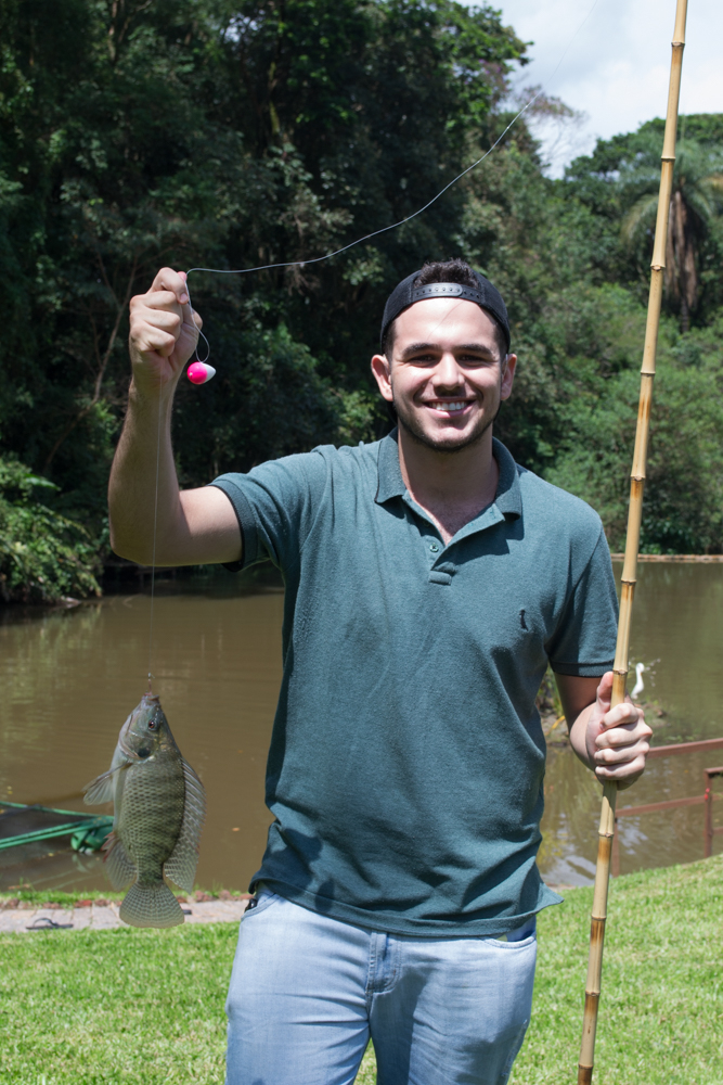 A segunda dinâmica envolveu uma pescaria.