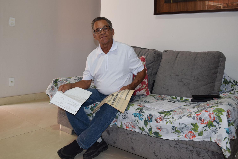 Há 14 anos, senhor Altamiro tentar saber onde foi parar o rim doado a ele pela esposa