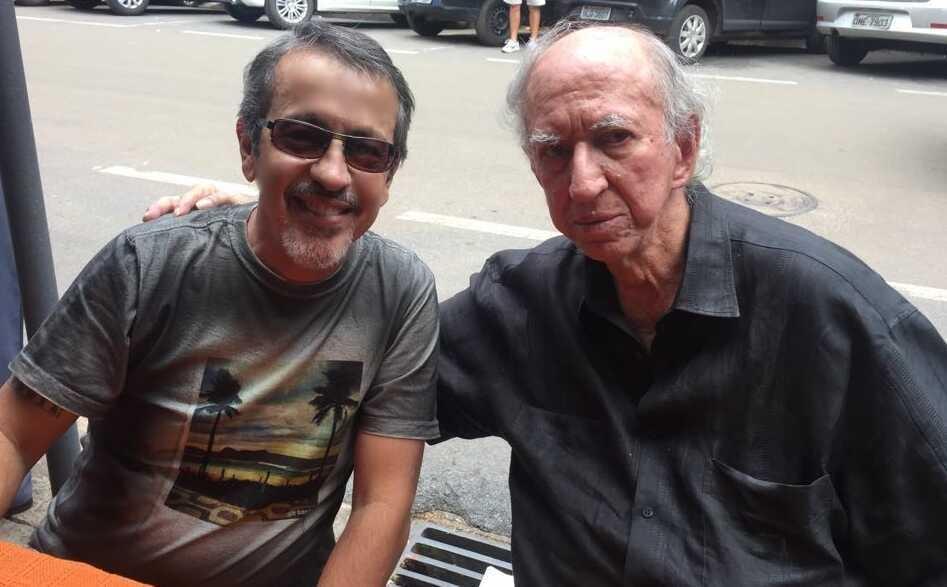 Jorge Fernando e Pacífico Mascarenhas, personagem principal do livro